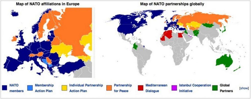 NATO weltweit