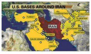 US Militär-Basen Iran